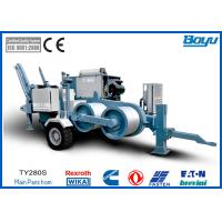 Wholesale Hydraulic Pulling Machine , Pull 28t Overhead Transmission Line Stringing Equipment from china suppliers