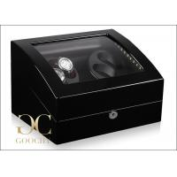 Wholesale Mechanical Watch Winder Display Case , Winder Box For Automatic Watches from china suppliers