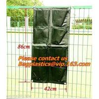 Wholesale Waterproof, Garden, Patio Plant, Flower, Grow Bags, 8 Pockets, Pouch, Hanging Planter from china suppliers