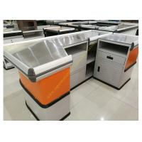 Wholesale Customized Made Stainless Steel Retail Checkout Counter / Grocery Store Checkout Counter from china suppliers