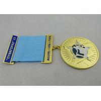 Wholesale 3.0mm Gold Plating Custom Medal Awards Zinc Alloy With Soft Enamel from china suppliers
