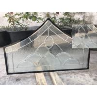 Wholesale Float Tempered Decorative Panel Glass For Architectural Door Flat Edge from china suppliers