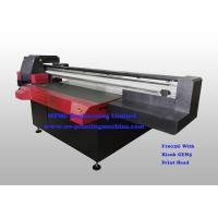 Wholesale Digital Uv Flatbed Printing Machine , Wide Format Flatbed Printer High Speed from china suppliers