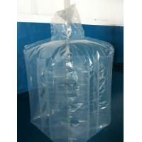 Wholesale Large 4mil 6mil thickness PE square baffle liners attached to big bags from china suppliers