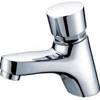 Buy cheap Polished Chrome Self Closing Faucet Brass Mixer Taps with CE , 0.05MPa - 0.9MPa from wholesalers