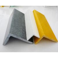 Wholesale Fiberglass Pultruded FRP Angle with High Strength Smooth Surface ISO9001 from china suppliers