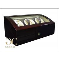Wholesale Cherry Wood Watch Winder / Triple Watch Winder For Christmas Gifts from china suppliers