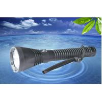 Wholesale MarsFire D-X2 1*XHP70 4000LM led dive flashlight , 100m waterproof 5-mode diving torch from china suppliers