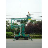 Wholesale Articulated Mounted Hydraulic Boom Lift 2.8 × 1.2 × 2.45m With 160 - 510 kg Rated Load from china suppliers