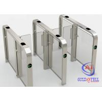 Wholesale High Security Brushless Speed Gate Turnstile RFID Biometric Access Control Systems from china suppliers