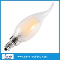Wholesale Home Dimmable Filament Style Led Bulb , 4w Tail Led Filament Candle Bulb Glass from china suppliers
