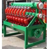 Wholesale 55 - 70L / S treatment capacity 150mm inlet pipe diameter Drilling Mud Desilter from china suppliers