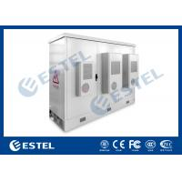 Quality Three Bays Base Station Cabinet Outdoor Telecom Enclosure Customized ET24080200 for sale
