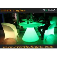 Wholesale Plastic material illuminated led sofa chair for events , led illuminated furniture from china suppliers