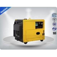 Wholesale 4.5kva Silent Diesel Generator For  Home Use 3 Phase Portable Generator Set 72 dB With Digital Panel , Silent Frame from china suppliers