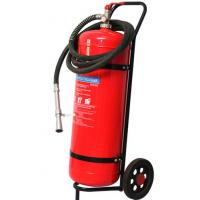 Wholesale Wheeled Trolley Type ABC Dry Powder Fire Extinguisher 50KG Smooth Surface Light from china suppliers