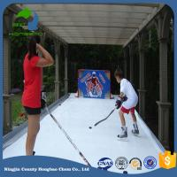 SGS ISO9001 Certificate Synthetic Ice Rink Panel Hockey Shoot Pad Artificial Skating Board Floor Factory Price