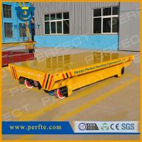 Wholesale Electrical Transfer Cart rail flat transporter 50t battery transfer carriage from china suppliers