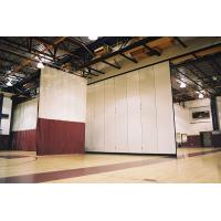 Wholesale Interior Decorative Aluminium Profile Operable Gymnasium Wooden Movable Partition Wall from china suppliers