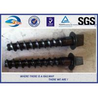 Railway Sleeper Screws Hexagon in Railroad , Track Hex Head Screw