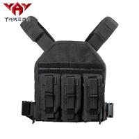 Wholesale Black 1000D nylon Adjustable Tactical Gear Vest For Combat Training from china suppliers