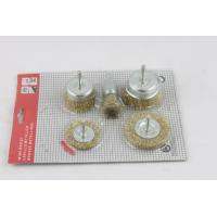 Wholesale OEM Crimped Wire Cup Brush Hand Tools Decoration DIY from china suppliers
