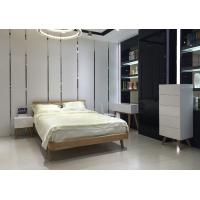 Wholesale Contemporary Low Height Wood Frame Bed With Wooden Slat European Style from china suppliers