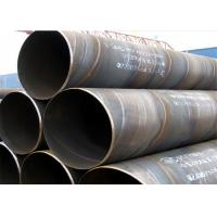 Wholesale Industrial Black Spiral Welding Pipe ASTM A53 ASTM A252 , 3.2mm-40mm Thickness from china suppliers