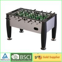China kids entertainment Foosball Table with steel ball bearing / table soccer game on sale