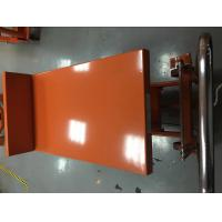 Wholesale Hydraulic Lift Tilt Table For Granite Slabs , Hi - Low Mobile Hydraulic Lift Cart from china suppliers