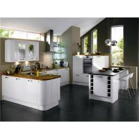 Wholesale new modern simple hotel kitchen cabinet furniture for project use from china suppliers