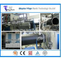 Wholesale HDPE Large Diameter Plastic Winding Sewage Pipe Making Machine from china suppliers