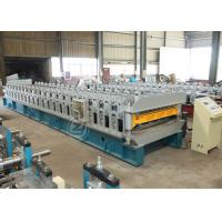Wholesale Improved Structure High Speed Double Layer Roll Forming Machine with ISO system from china suppliers