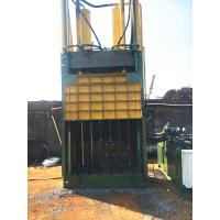 Buy cheap 25 Tons Paper Baler Machine Built - In Cabinet Tied Belay Preset Slots from wholesalers