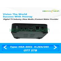 Wholesale Bluetooth OTT Full HD Set Top Box  8GB Nand Flash Hardware 3D Graphics Acceleration from china suppliers