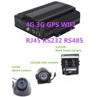 Wholesale Hybrid HD Mobile DVR 8CH 1080P  4G GPS WIFI rs485 RS232 RJ45 for school  bus from china suppliers