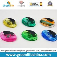 Wholesale Plastic Magnet Clip Transparent Colors Oval Shape Office Stationery from china suppliers