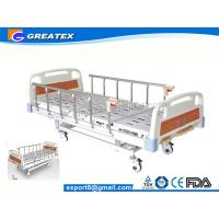 Wholesale 3 Crank Hospital Style Beds With Name Card On Head board side from china suppliers