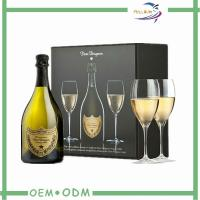 Wholesale Custom Square Wine Gift Boxes One Set Packaging For Wedding from china suppliers