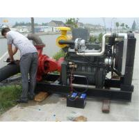 Wholesale Flexible / Reliable Diesel Water Pump Set Corrosion Resistant For Drainage from china suppliers