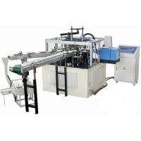 Wholesale High Efficiency Automatic Paper Lid Making Machine With Hot Melt Glue Box from china suppliers