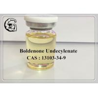 Wholesale CAS 13103-34-9 Boldenone Undecylenate Injectable Anabolic Steroids 300mg/ml Equipoise from china suppliers