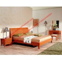 Whole Set Of Mdf Melamine Panel With Solid Wood Apartment Bedroom Furniture In Cheap Price From