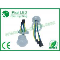 Quality 26mm Full Color RGB Led Pixel Amusement Rides Lights for sale