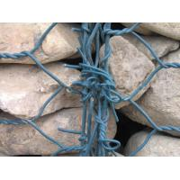 Quality Wide Variety PVC Coated Gabion Boxes With Low Carbon Hot Dipped for sale
