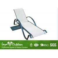 Wholesale Patio Pool Furniture Chaise Lounge Outdoor Recliner Chair With Cushion Water - Repellent from china suppliers