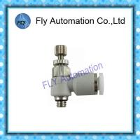 Quality One Way Flow Control Valve Pneumatic Fittings And Tubing Festo GRLA-M5-QS-4 162961 for sale