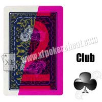 Wholesale Magic Show China Yao Ji 3008 Paper Marked Playing Cards For Gamble Cheat from china suppliers