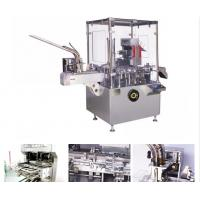 Wholesale AL / PL Blister / Bottle Automatic Vertical Cartoning Machine With PLC Control from china suppliers