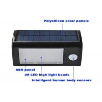 Wholesale 350LM 3.5 Watt Solar LED Motion Sensor Light Heatproof Intelligent Durable from china suppliers